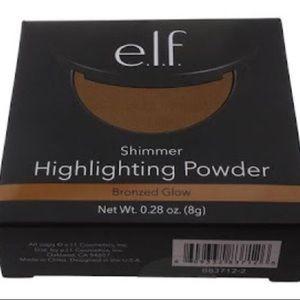 ELF Shimmer Highlighting Powder Bronzed Glow
